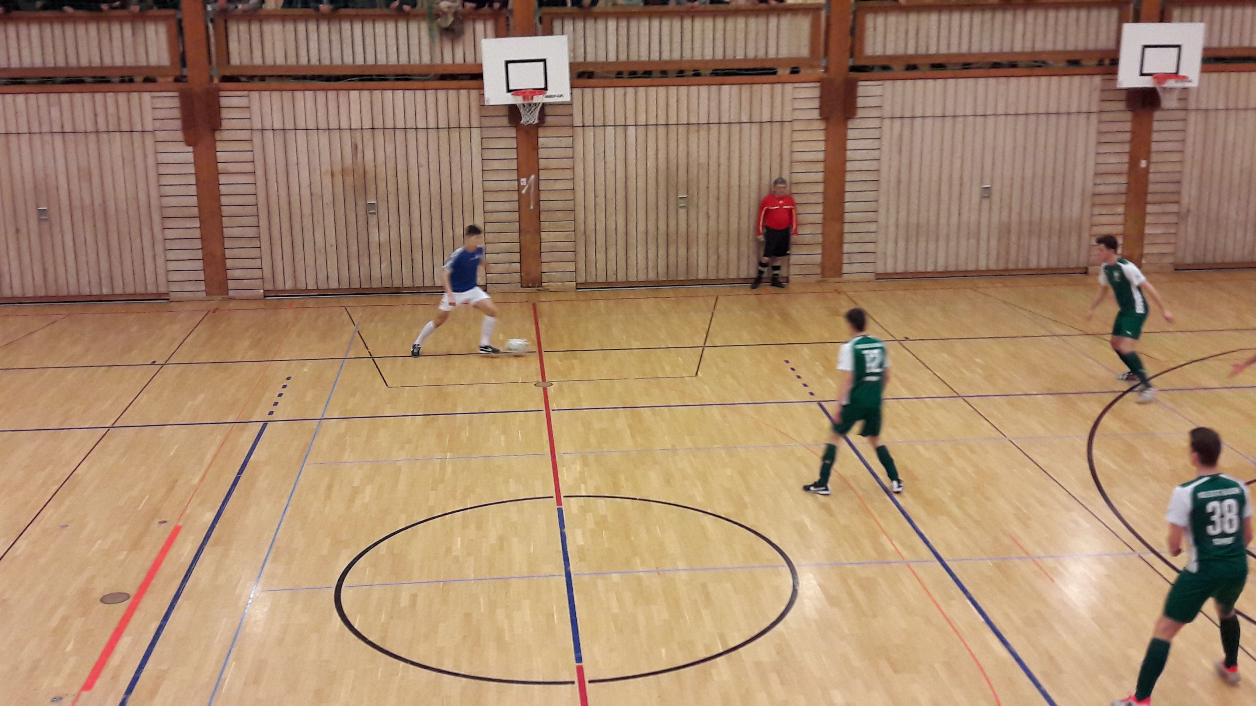 2. Internationale Fußball Internate Hallen-Cup 2017 in St. Blasien